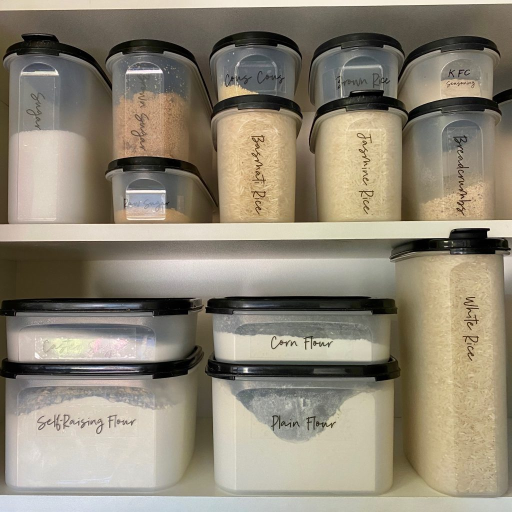 How to double the storage space in your pantry