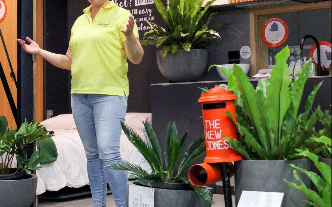 Public talk on clutter-free living