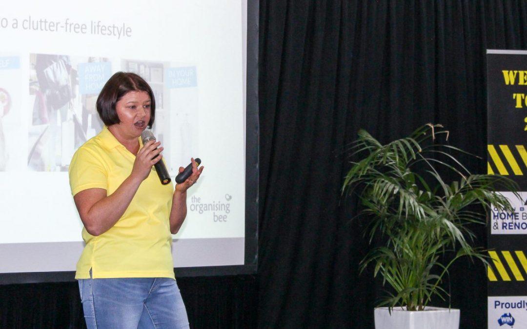 Keynote presenter on decluttering