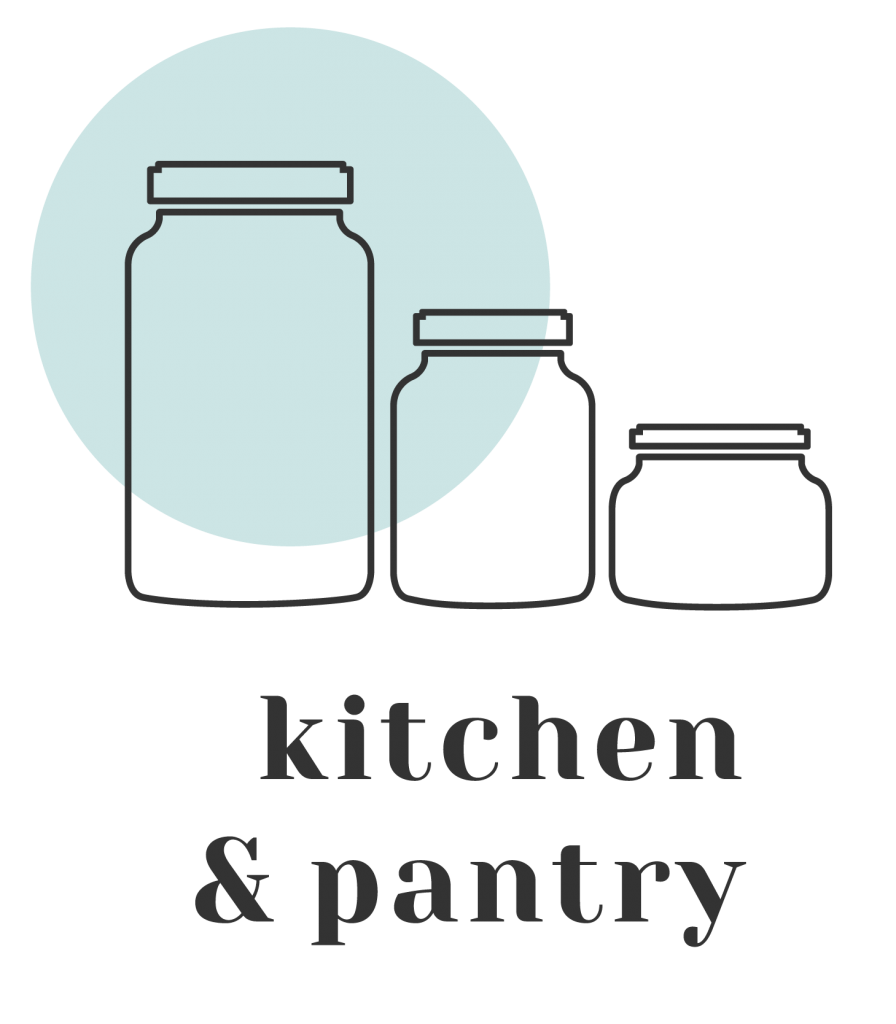 Kitchen pantry organisation