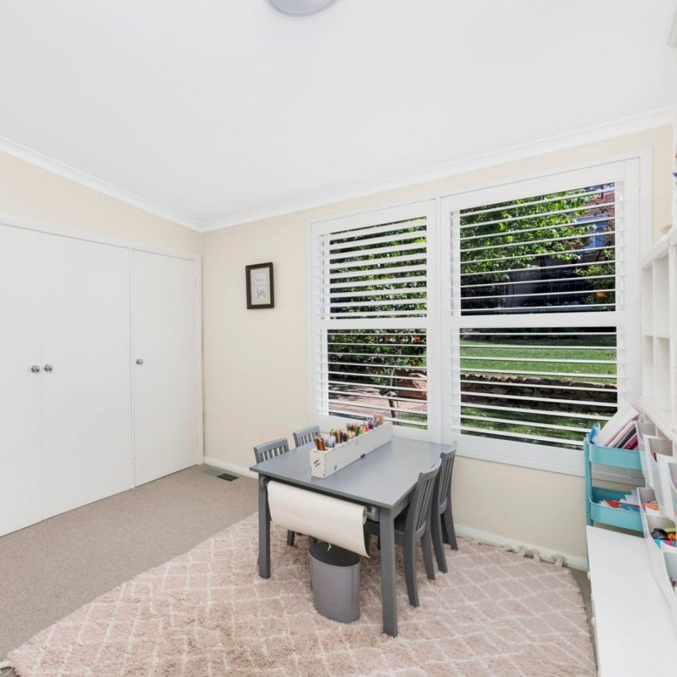 Reorganising a children's bedroom & playroom