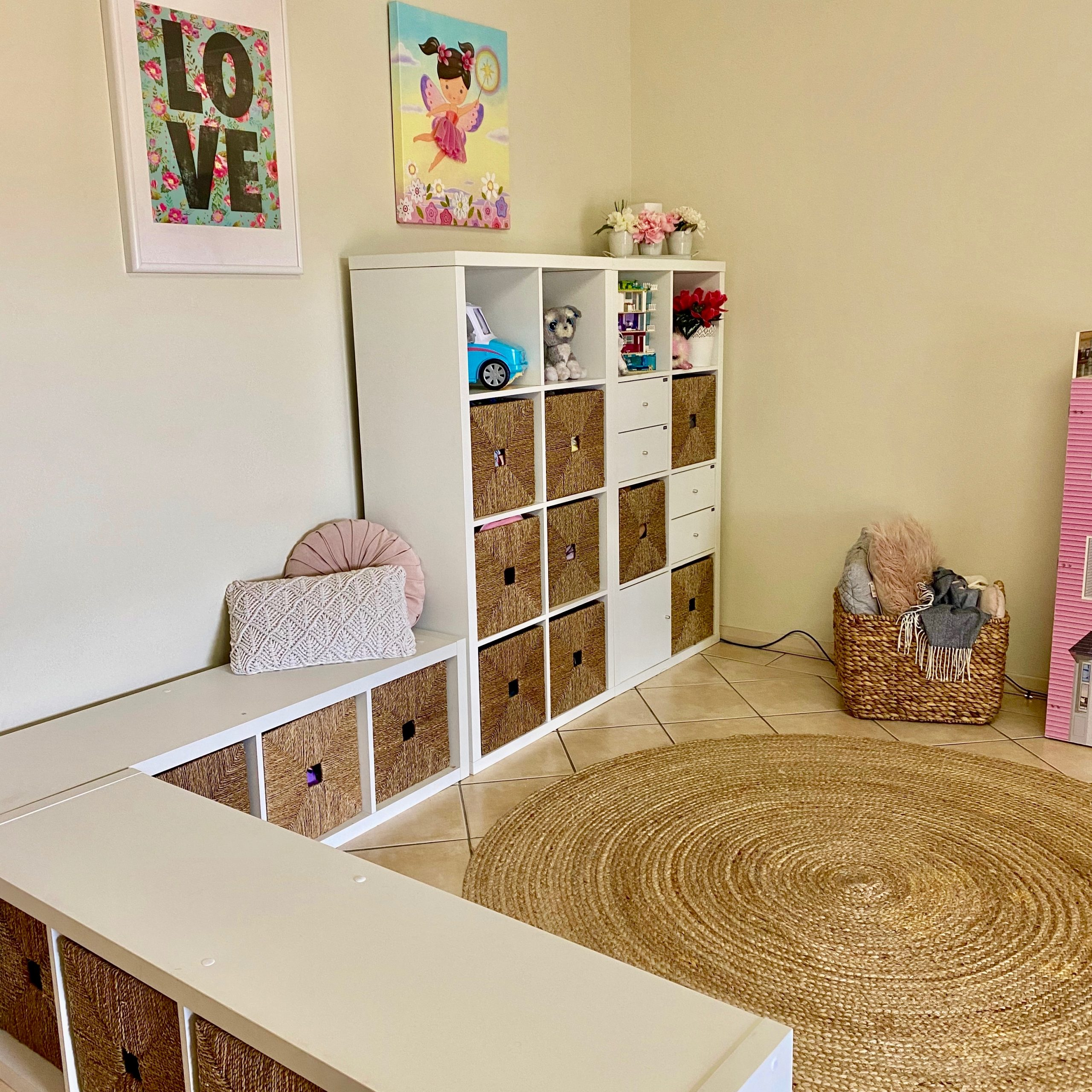 Playroom Dolls Storage After Organisation - The Organising Bee Canberra