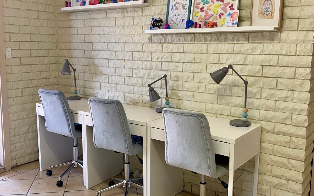 Converting a playroom into a pre-teen retreat