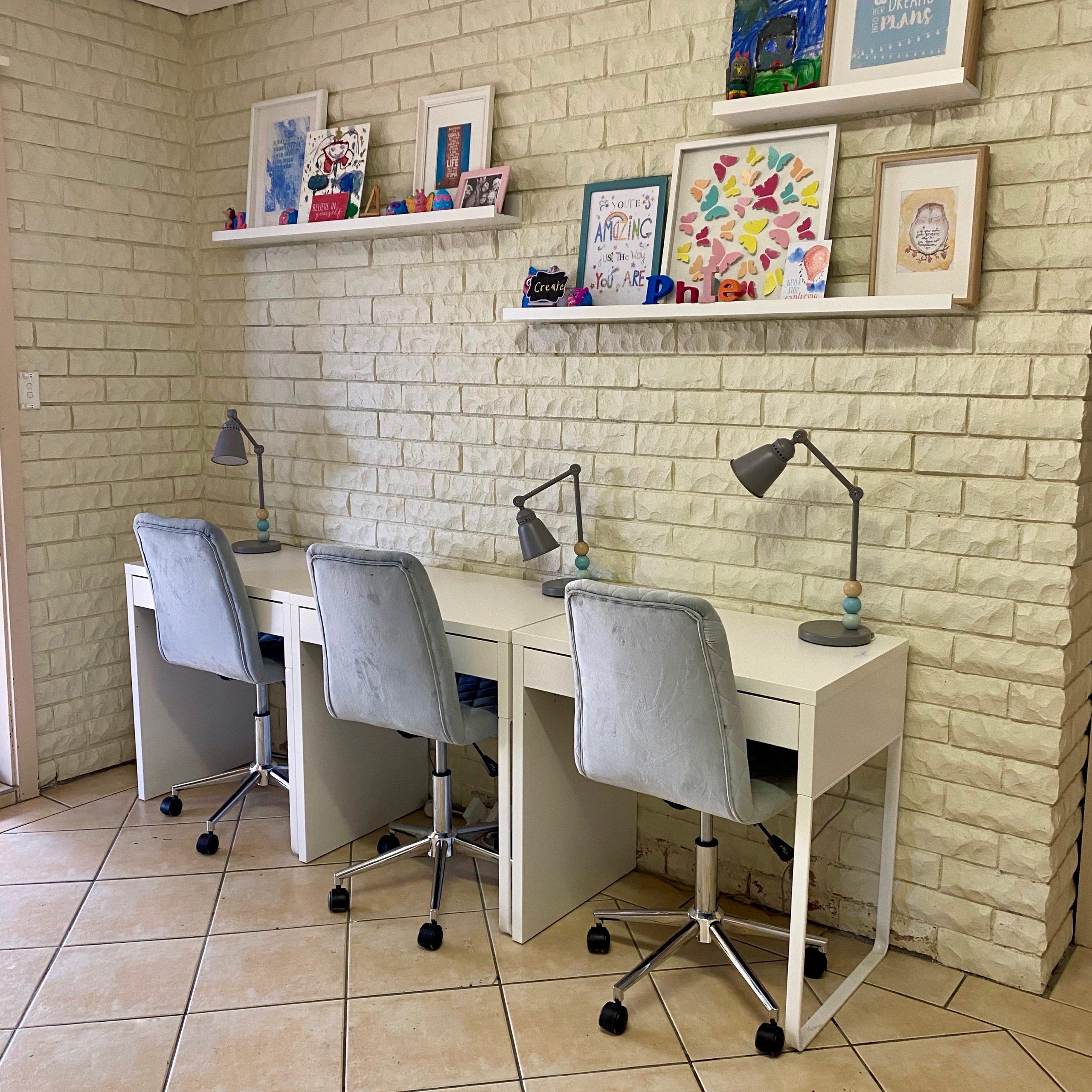 Teen Study Desks - The Organising Bee Canberra