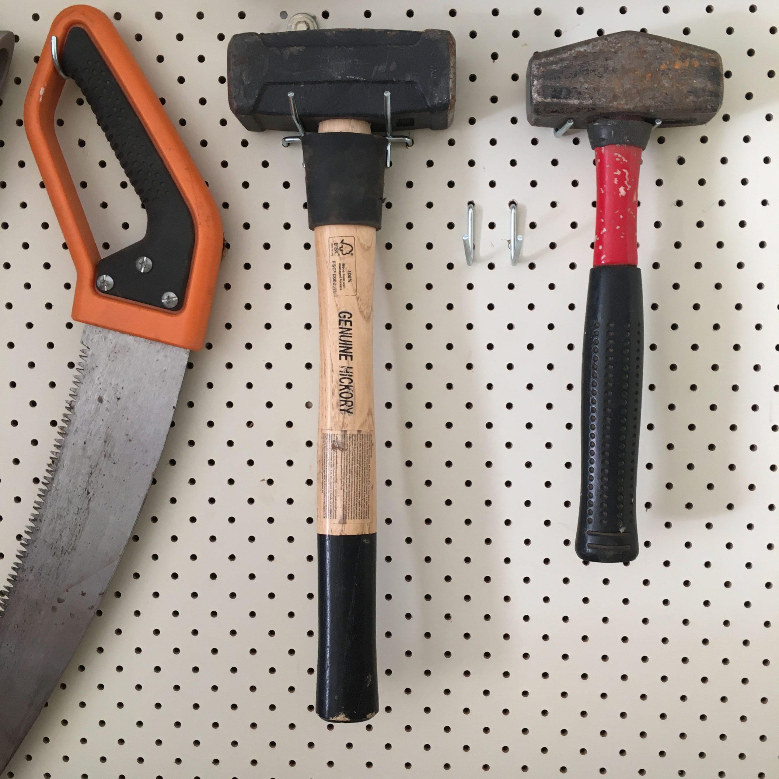 Tool Garage Organisation - The Organising Bee Canberra