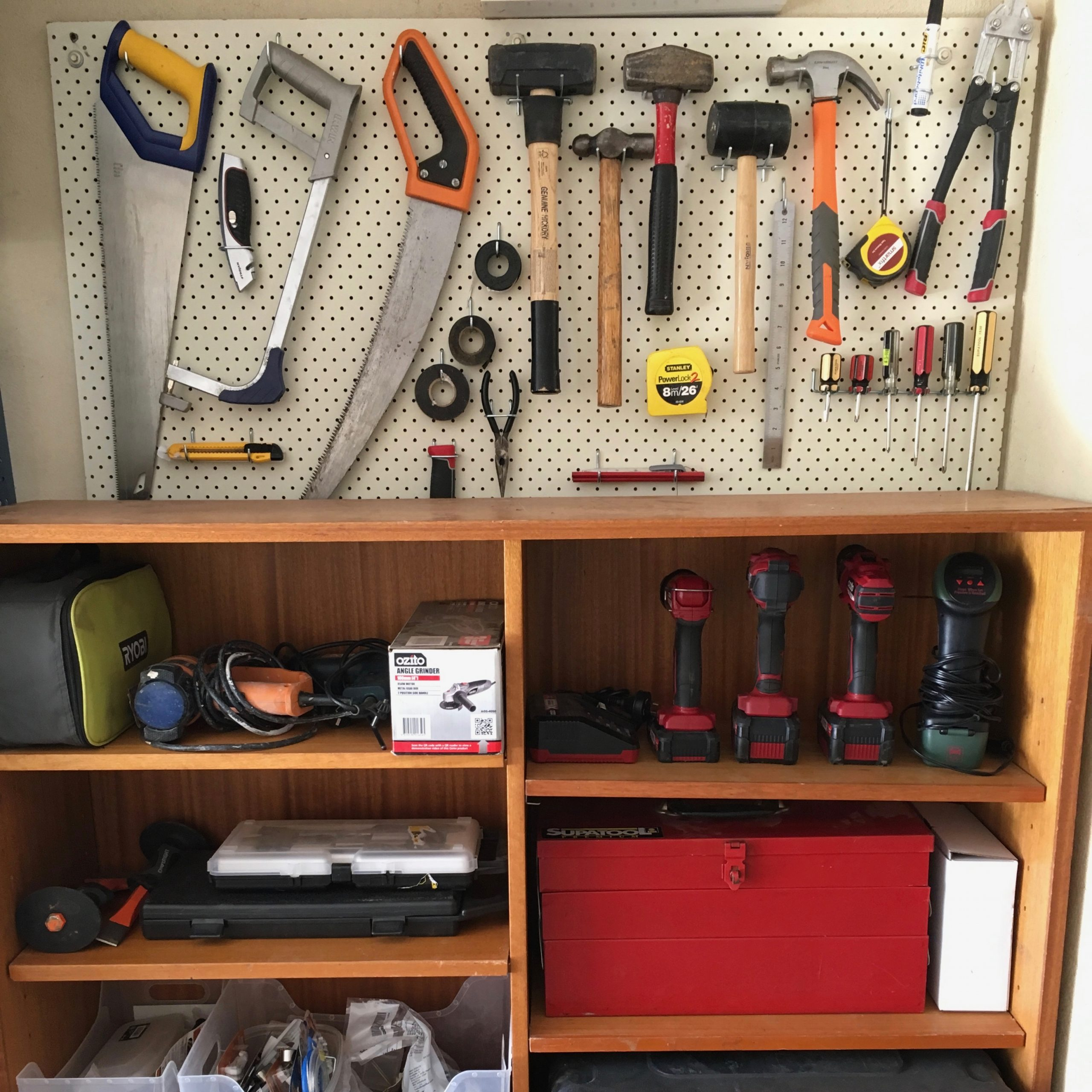Tools Garage Organisation - The Organising Bee Canberra
