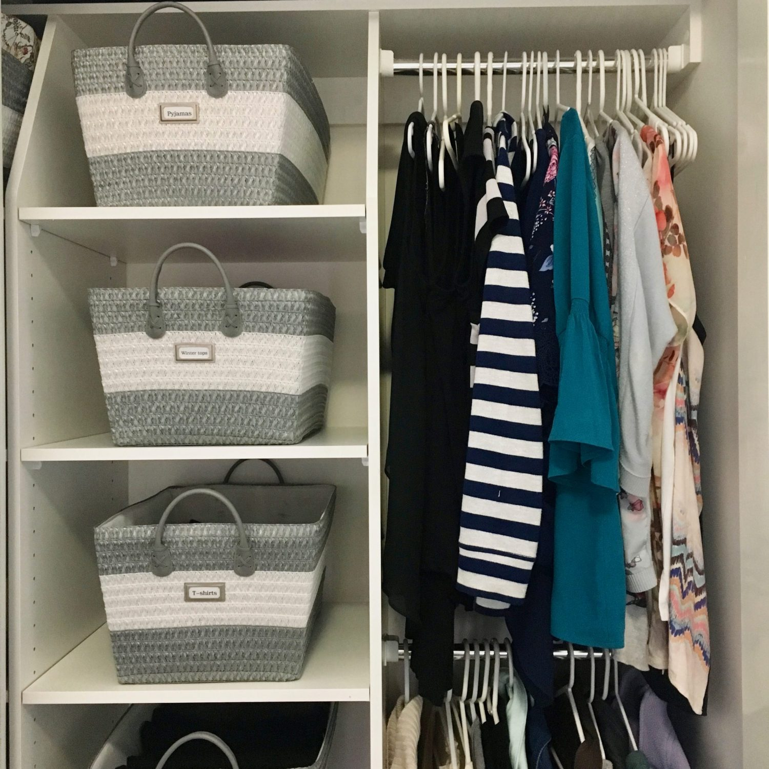 Wardrobe Organisation - The Organising Bee Canberra