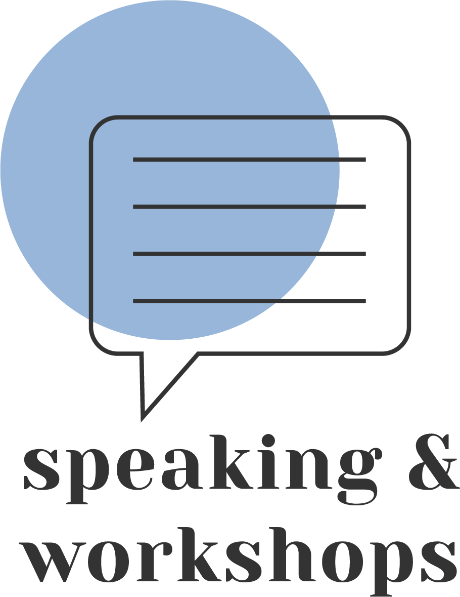 Speaking and workshops hover image