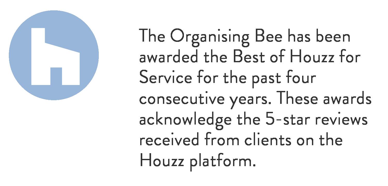 organising bee houzz awards