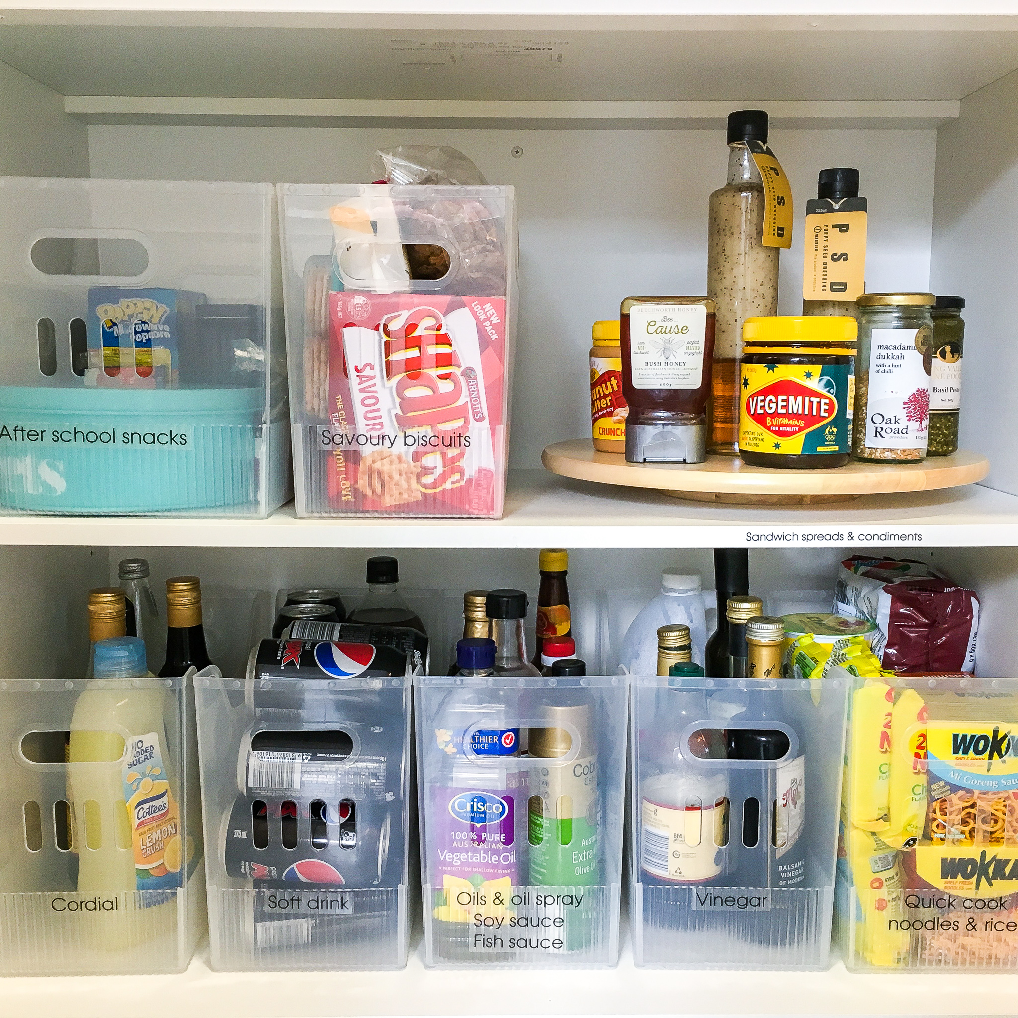 Organising Pantry - The Organising Bee