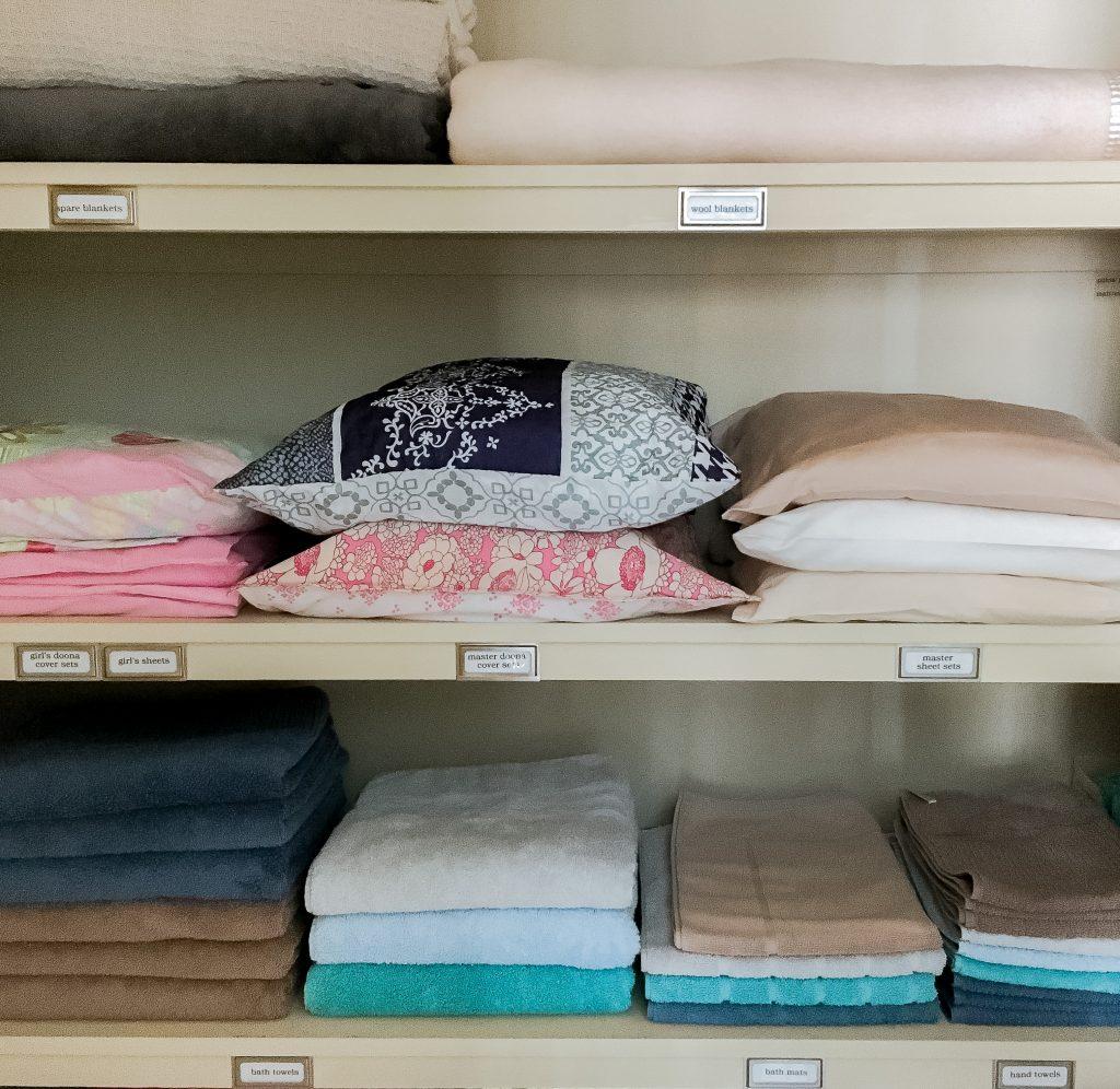 Organising Doona Sets & Sheets