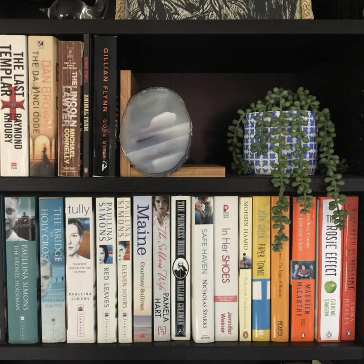 How do you organise your books?